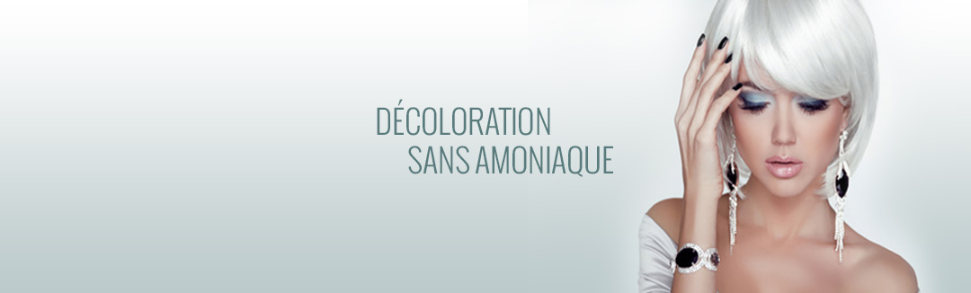Décoloration sans amoniaque
